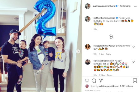 Nathan Samra Mathers  is father to three kids.