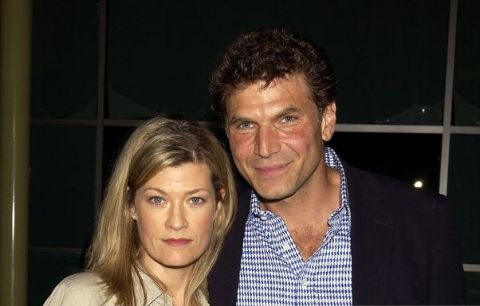 Barbara Chinlund's husband Nick Chinlund poses with Dana Wheeler-Nicholson.