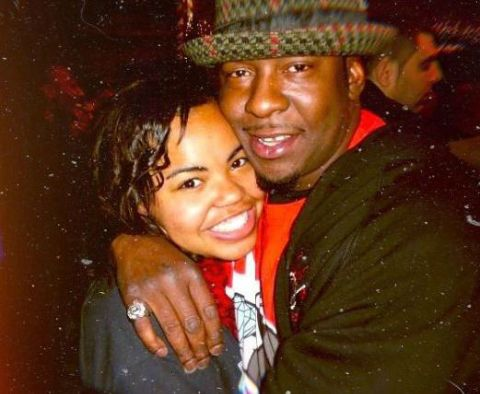 Chyna Tahjere Griffin with her sweetheart Bobby Brown
