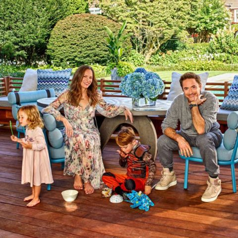 Exton Elias Downey has a wonderful family of five members