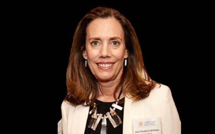 Jane Stoddard Williams has a net worth of $2 million