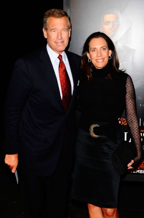 Jane Stoddard Williams with her spouse Brian Williams