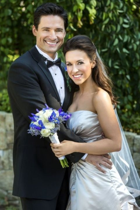 Lacey Chabert with her partner David Nehdar