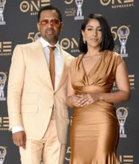 Mike Epps and his second spouse Kyra Robinson Epps