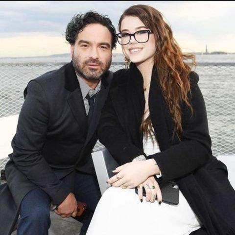 Alaina Meyer is in a live-in relationship with lover Johnny Galecki