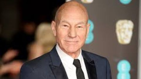 Sheila Falconer's ex-husband Patrick Stewart poses a picture.