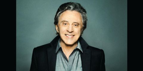 Randy Clohessy's ex-husband Frankie Valli poses for a picture.