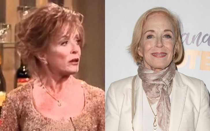 Before and after picture of veteran Holland Taylor