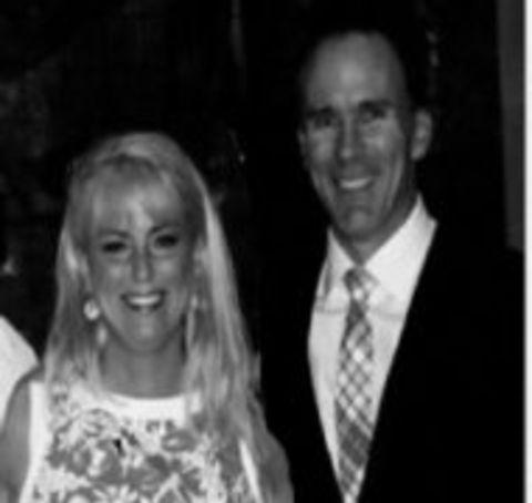 Melissa Buccigross with her ex-husband John Buccigross.