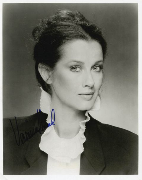 Veronica Hamel signed a picture of her.