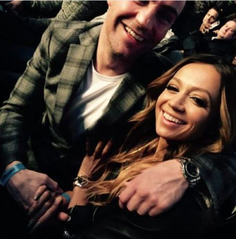 Ramtin Abdo and his ex-wife Kate Abdo pose for a picture.