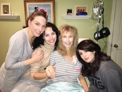 Leianesse Kramer (second to left) poses for a picture with her sisters, Amity, Sedona and late mother  Kim Addrisi.