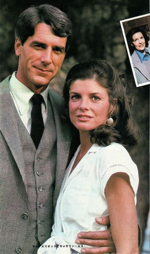 Katharine Ross poses a picture with husband Sam Elliott.