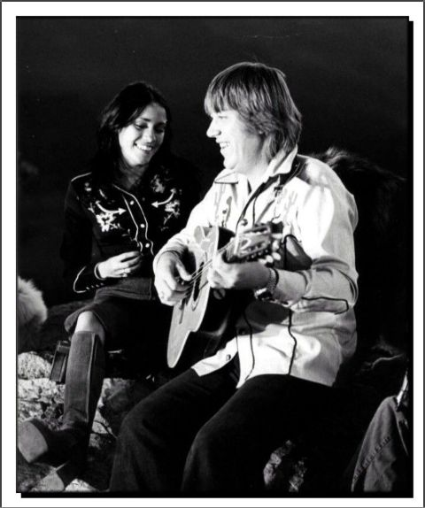 Camelia Kath and her ex-husband Terry Kath singing songs.