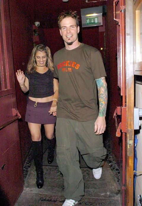 Laura Giaritta and her ex-husband Vanilla Ice caught on the camera.