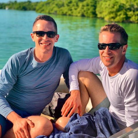 Ben Tracy is openly gay and his significant other Mark Gustafson