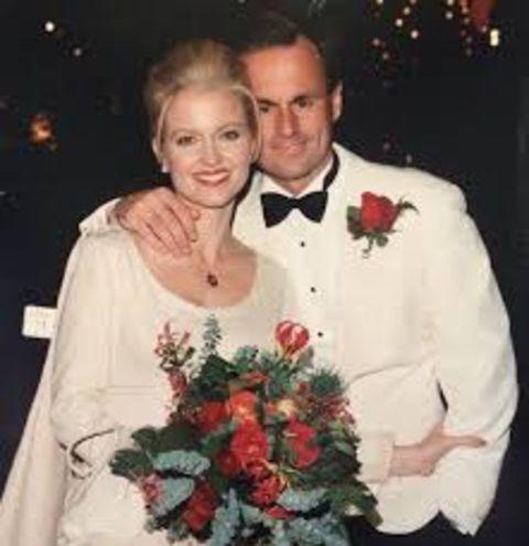 Linda Stouffer with her partner Mark Strassmann