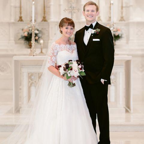 Briana Altergott and her husband Christopher Koeneman.