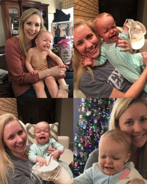 Hannah Trippett likes to hang out with her friends and relatives babies