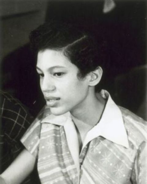 A young picture of Carlotta Walls LaNier