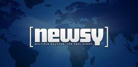 Briana Altergott's workplace Newsy's logo.