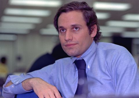 Bob Woodward posed a picture during his youth age.