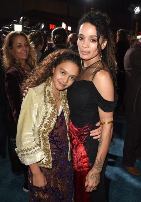 Lola Lolani Momoa poses a picture with mom Lisa Bonet.
