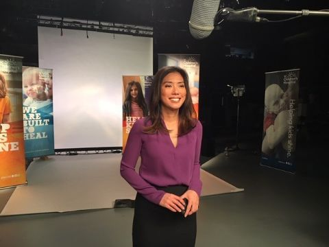 Sophie Lui is a talented actress and a journalist