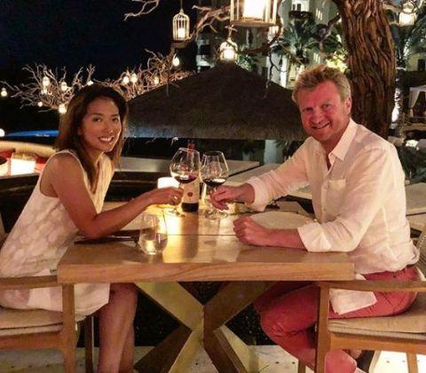 Sophie Lui and her boyfriend Philip
