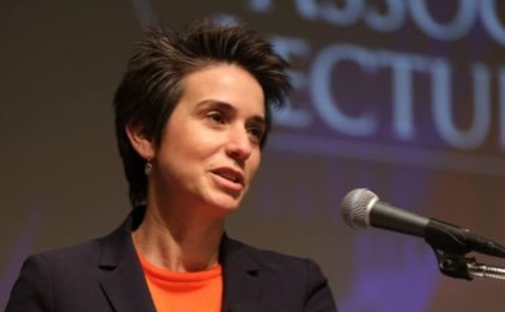 Amy Walter speaking in an interview.
