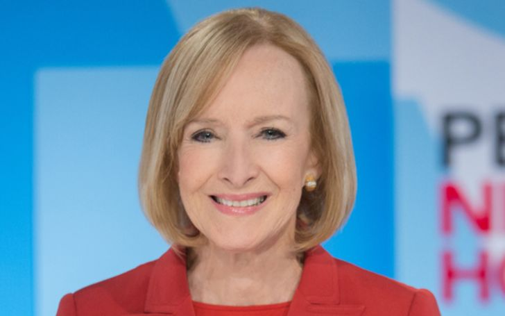 Judy Woodruff has a staggering net worth collection of $8 million