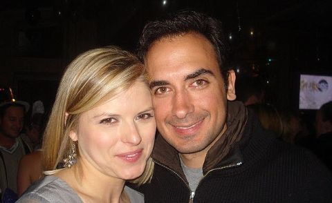 Kate Bolduan poses a picture with her husband Michael Gershenson.
