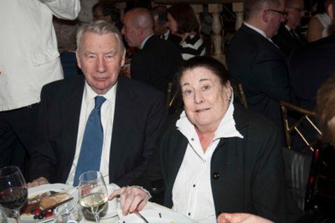 Robert MacNeil and his wife Donna MacNeil