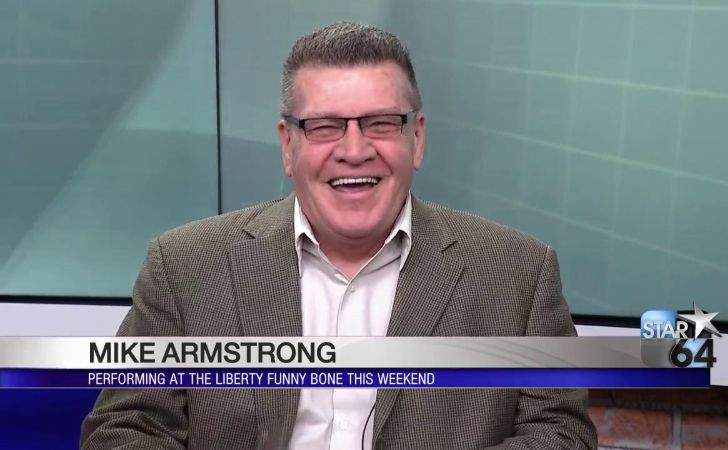 Mike Armstrong live on television