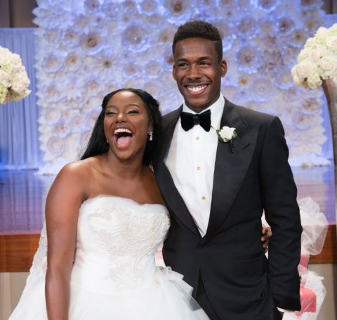 Brelyn Freeman tied the knot with her husband Tim Bowman, Jr. on October 10, 2015, in Upper Marlboro, Maryland.