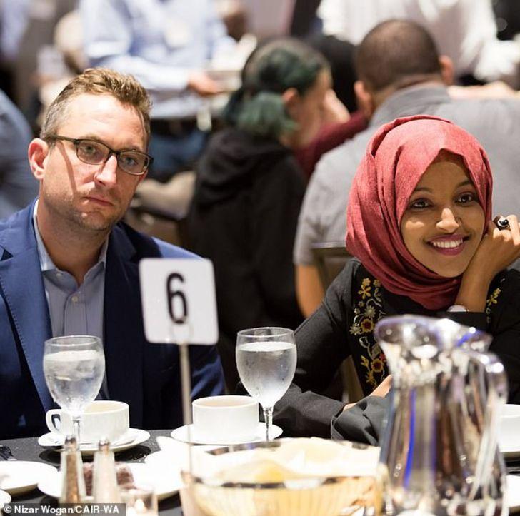 Tim Mynett and Ilhan Omar