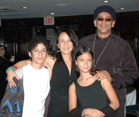 Maria Hinojosa and her family