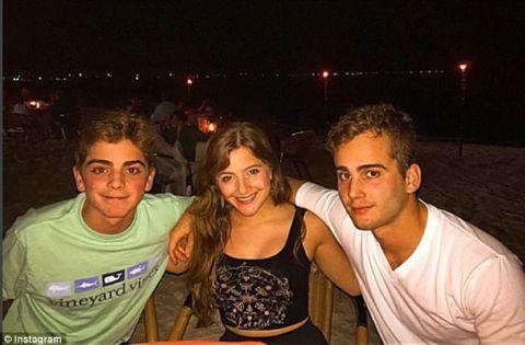 Alexander Scaramucci and his siblings