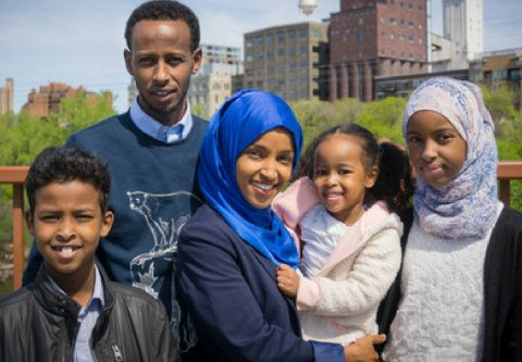 Because of Trump's tweet, many of his followers began to send threat calls and messages to Ilhan Omar.