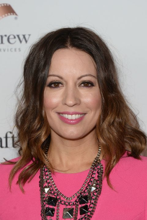 Kay Cannon during a movie premiere
