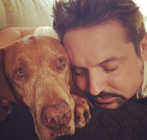 Susan Martens loves her dog.