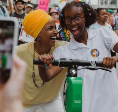 The young American environmental activist, Isra Hirsi has two siblings.