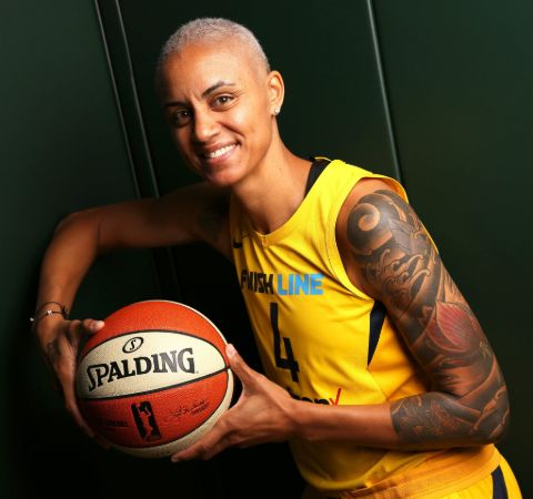 Candice Dupree is a well-known American basketball player.