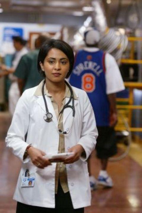 Parminder Nagra in the show ER