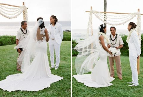 Seimone Augustus wedding