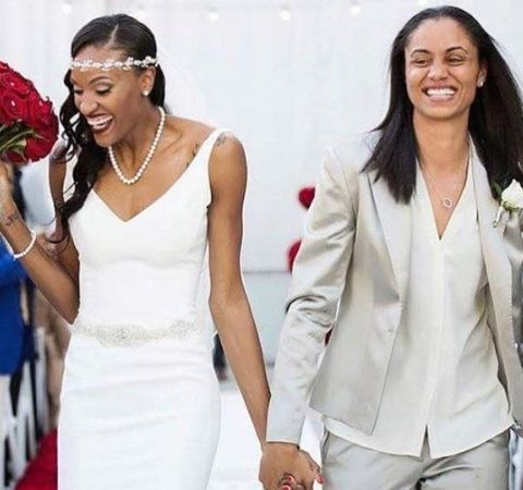 DeWanna Bonner is married to her former teammate, Candice Dupree.