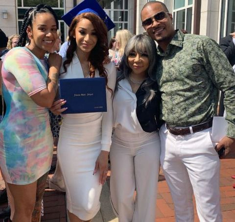 Deyjah Imani Harris was welcomed by her father T.I. and her mother Ms. Niko, R&B singer.
