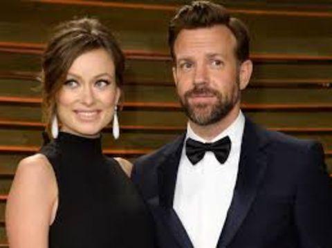 Jason Sudeikis and his wife Olivia Wilde