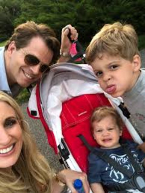 Nicholas Scaramucci and his family