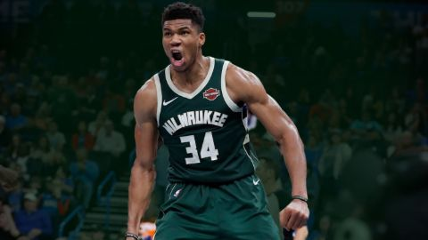 Giannis Antetokounmpo is a basketball player